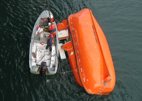 Lifeboat Accident