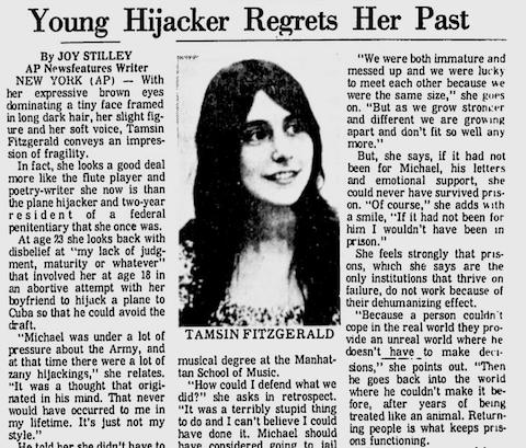 Tamsin Fitzgerald Hijacker