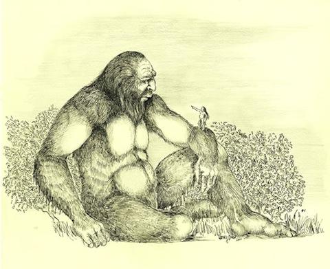 Bigfoot Art